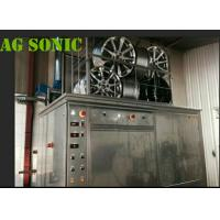 Wholesale 4500W Industrial Sonic Cleaning Tank / Tyre Washing Machine With Pneumatic Lift from china suppliers