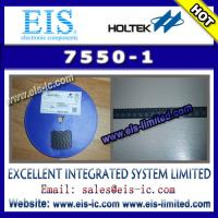 Buy cheap 7550-1 - HOLTEK - HT75XX-1 100mA Low Power LDO - Email: sales014@eis-ic.com from wholesalers