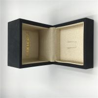 China  Ring Luxury Jewelry Box Fine Fabric With Customized Size / Color on sale