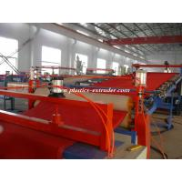 Wholesale PVC Soft Floor Mat Extruder Machine , Coil carpet Production Line from china suppliers