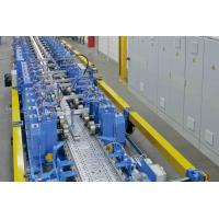 1-2mm Galvanizing Steel  , Perforated Cable Tray Cold Roll Forming Machine