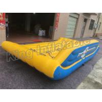 PVC Tarpaulin Inflatable Fly Fishing Boats Sport Fishing Boat Commercial Raft for sale