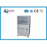 Wholesale Movable Flammability Testing Equipment / Cable Integrity Combustion Machine from china suppliers