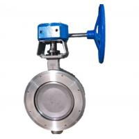 Wholesale High Performance Wafer Double Flanged Butterfly Valve from china suppliers