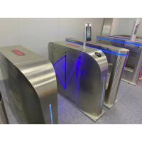 Wholesale Face Recognition Infrared Thermoter Automatic System Turnstile 30 Degree Filed View from china suppliers