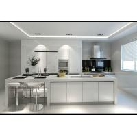 China Customized Plywood Kitchen Cabinets , Pure Wooden Wardrobe Designs For Kitchen on sale