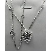Wholesale 18K White Gold with Natural Diamonds White Snake Series Necklace KGN000377 from china suppliers
