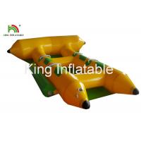 Commercial PVC Inflatable Towable Water Flying Fish Boat For 4 People for sale
