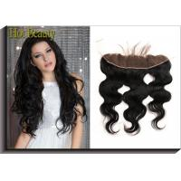 Buy cheap Top Lace Closure Frontal Free Part Middle Part 3 Way Part Body Wave  Straight For Hair Salon product