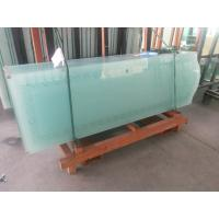 Wholesale Polished Edge Tempered Etched Glass Door Panels Tinted For Bathroom , 3660mmx15000mm from china suppliers