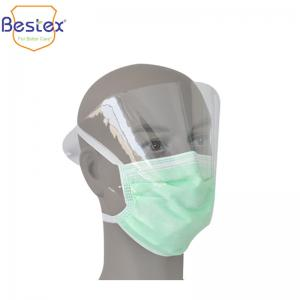 Wholesale Anti Fog Plastic Shied 17.5*9.5cm Disposable Earloop Mask from china suppliers