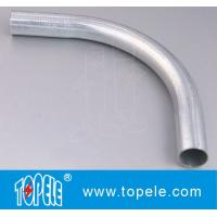 Buy cheap 1/2 - in Pre-galvanized Steel Pipe Elbow EMT Conduit And Fittings welded from wholesalers
