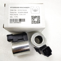 Wholesale Solenoid Coil 24V ZGAW-00008 XKBL-00084 XKAL-00065 For Hyundai Excavator R1200-9 R140LC-9 from china suppliers