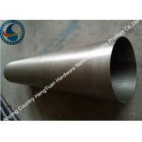 Wholesale Stainless Steel Wedge Wire Screen Filter With Point Welding Technique from china suppliers