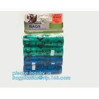 Wholesale Disposable Dog Excrement Pop Shit Pet Trash Garbage Waste Disposal Dog Poop Bag, 100% biodegradable colorful pet waste b from china suppliers