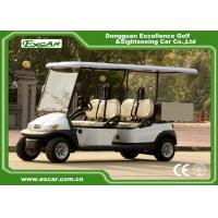 Wholesale EXCAR White 2 Seats Hotel Buggy Car Electric Utility Golf Carts With Cargo for Transportation from china suppliers