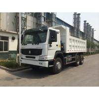 Howo Euro II Emission 6×4 Heavy Duty Dump Truck With 20 Tons Payloader
