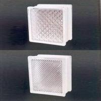 Wholesale Glass Blocks, Available in Various Styles and Designs, with Colored Acid Treatment Pattern from china suppliers