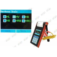 China USB Interface Portable Hardness Tester Reliable Over Limit Automatic Alarm on sale