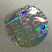 Wholesale Tamper Evident Void Hologram Sticker / Hot Stamp Stickers Glossy Varnish from china suppliers