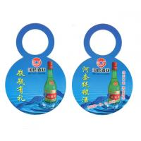 Wholesale Recycled Custom Garment Tags Bottleneck Paper Hangtags Bright Color Long Shelf Life from china suppliers