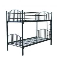 china factory price double decker metal bed metal double bunk bed B057