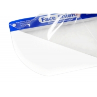 Wholesale Public Protective Anti Dust Transparent PET Face Shield from china suppliers