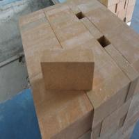 Wholesale Magnesia Zirconia Kiln Refractory Bricks 76% MgO Insulating Fire Brick Light Yellow from china suppliers