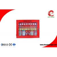 Wholesale Loto Safety Lockout Station Red Energy Insulation 22 - Padlocks Available 430mm Height from china suppliers