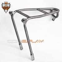 Wholesale Lightweight Brompton Bicycle Parts Rear Rack Mini Luggage Shelf Q Type Rear Rack from china suppliers