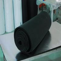 Black Color Rubber Pipe Insulation Tube
