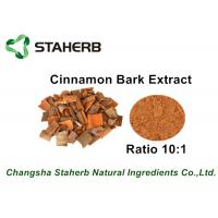 Wholesale Brown Color Herbal Extract Ratios , Cinnamon Bark Extract Powder For Food from china suppliers