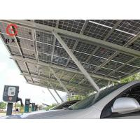 Buy cheap 3.0KWp Solar Car Charging Station , Solar Car Parking Shed 2.5m~4m Height from wholesalers