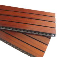 Wholesale Meeting Room Wooden Grooved Acoustic Panel Sound Absorbing Panels from china suppliers