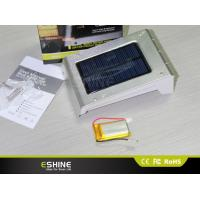 Wholesale 0.66W Indoor Solar Light 800mAh 120lm waterproof IP54 Aluminum from china suppliers