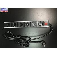 Buy cheap Metal Shell 6 Outlet Power Strip , Germany Socket Power Bar from wholesalers