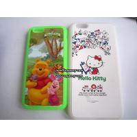 Wholesale Custom made Iphone6, Iphone6 plus silicone case with full color printing from china suppliers