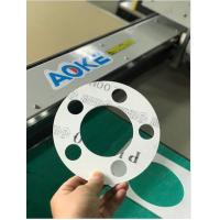 Wholesale PTFE Teflon Graphite SBR NBR Copper Metal Joints Gasket Rings Cutting Machine from china suppliers