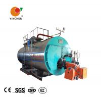 Wholesale Low Pressure Steam Boiler 0.3-20 Tons / Horizontal Three Pass Fire Tube Boiler from china suppliers