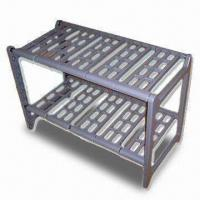 Wholesale Two-tier Extendable Plastic Rack with Slot-together Frame, Easy to Assemble from china suppliers