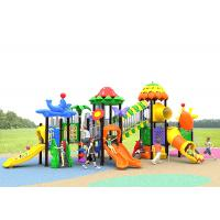 China Pole 76 Diameter Childrens Plastic Playground Child Play Slide Residential on sale