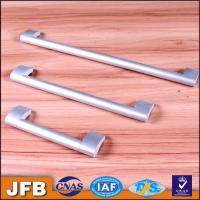 China ITEM E320 CC128mm foggy silver household various colours finished kitchen cabinet cabinet door ALUMINUM pull handles on sale