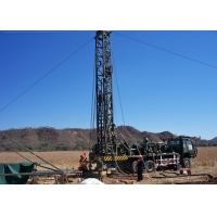 Buy cheap Truck Mounted Depth 300m Hydraulic Water Well Drilling Rig from wholesalers