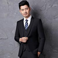 Wholesale 80% Cellulose Acetate Fibre Custom Men Business Suit 2 Piece Breathable from china suppliers