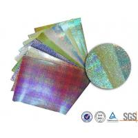 Wholesale Customerized Pearl rainbow wrapping paper for bouquets , Iridescent  gift wrap sheets from china suppliers