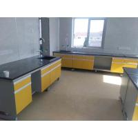 Wholesale Lab Bench Lab Table 6000*750*850mm Lab Workbench Steel Wood Wall Bench Laboratory Side Bench from china suppliers