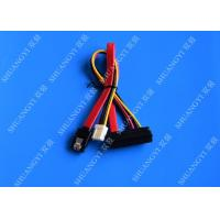 Wholesale 22 Pin SATA Cable with 3 Pin Power and  Latching SATA Connector from china suppliers