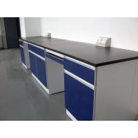 Wholesale Customizd Lab Bench Lab Table Chemical Side Table Steel Laboratory Wall Bench 4800x750x850mm from china suppliers