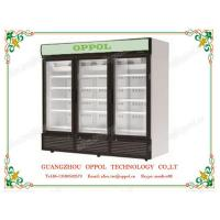 Wholesale OP-1105 OPPOL Brand Pharmacy Storage Glass Doors Air Cooling Refrigerator from china suppliers