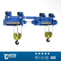 Wholesale YT 1ton To 20ton Cd/md Model Wire Rope Electric Hoist With Monorail Trolley from china suppliers